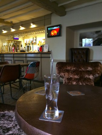 Magor, UK: The bar/seating area