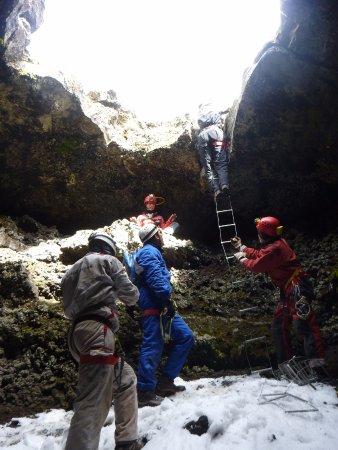 Zafferana Etnea, إيطاليا: Grotta dei tre livelli