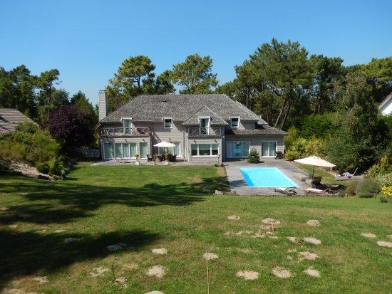 Villa Vent Couvert : Vue de l'arrière de la villa