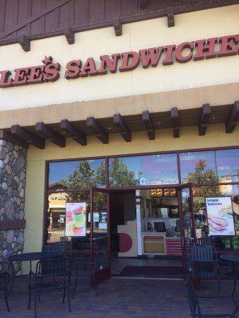 Lake Forest, CA: Lee's Sandwiches