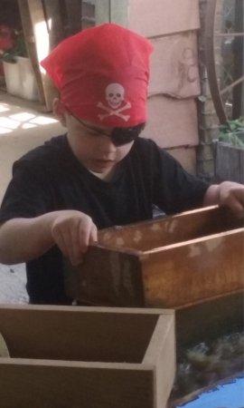 Hendersonville, North Carolina: Talk like a pirate week!! Free mining!!