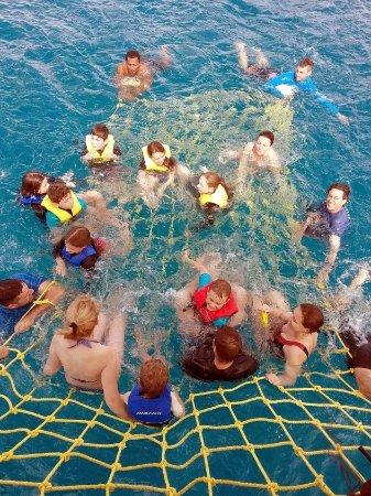 Denarau Island, Fiji: Free Boom Net Ride on all Jolly Bula day trips, weather dependant