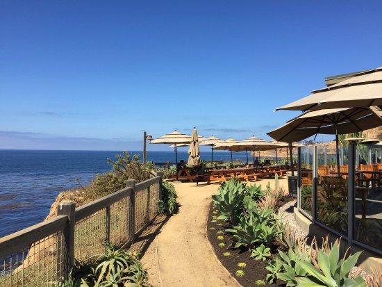 Rancho Palos Verdes, Kalifornia: View of outdoor seating
