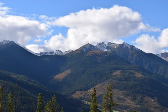 Panorama, Kanada: On the way to the top