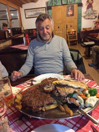 Hotel-Pension Tripic: Piatti super abbondanti cucina tipica sono cliente da oltre 10 anni  ma è sempre un piacere torn