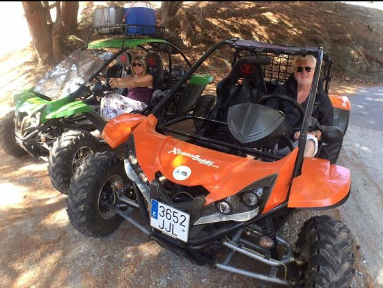 ‪‪La Herradura‬, إسبانيا: 500cc automatic 2 seater buggies.‬