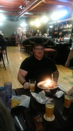 Gillette, WY: Happy birthday thank you for coming celebrate with us. . Thank you to all customers who make fie