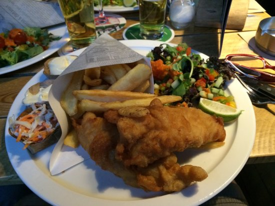 Middelburg, هولندا: Fish and chips