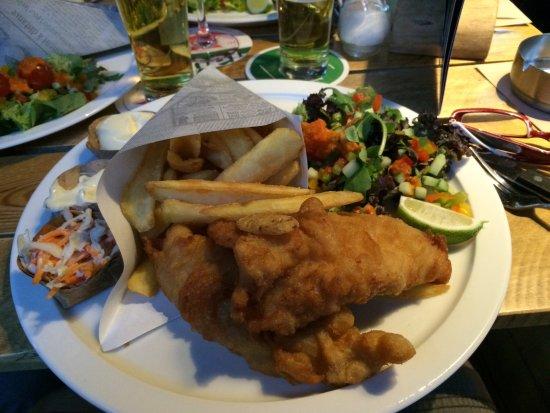 Middelburg, Nederland: Fish and chips
