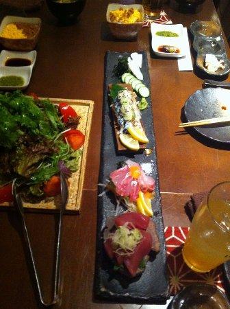Amami, Japonya: おさしみ