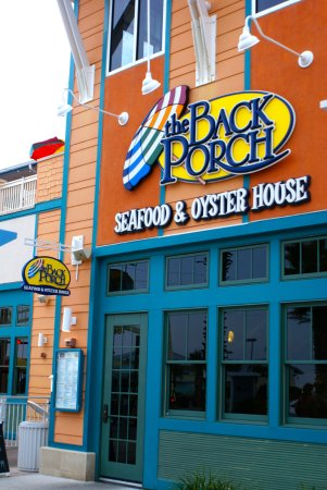 Back Porch Restaurant At Pier Park Wonderfully Delicious