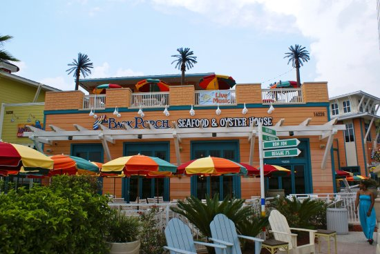Back Porch Restaurant At Pier Park