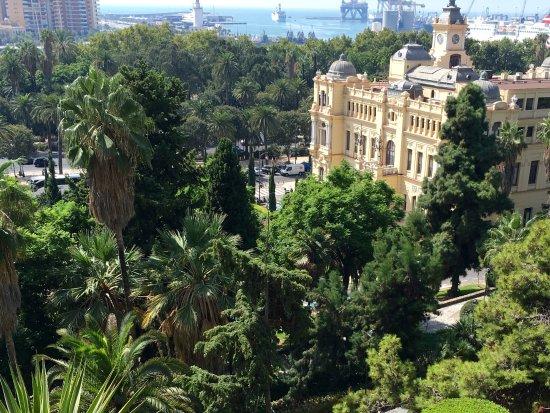 Hotel MS Maestranza: Taken on walk down from castle walls