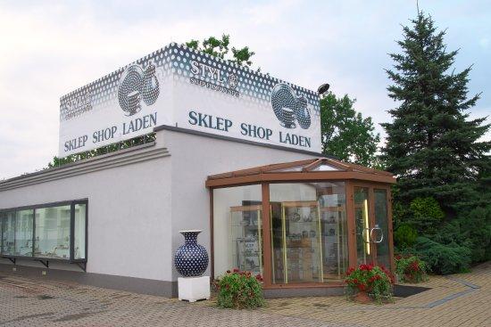 Boleslawiec, Pologne : Ceramika Artystycznaの外観。