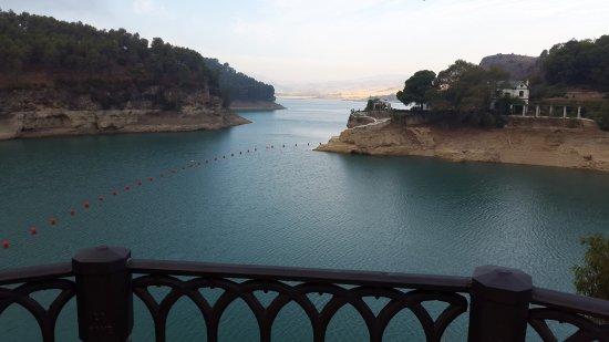 Алора, Испания: Antes de salir a la caminata