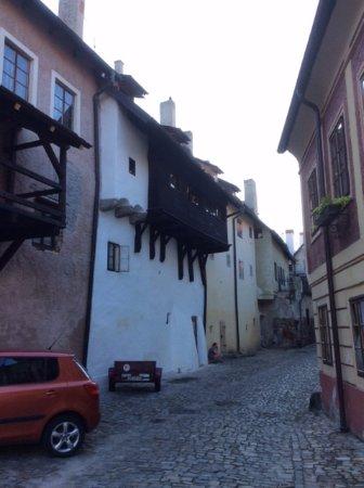 Penzionek Olsakovsky: Street of Penzionek