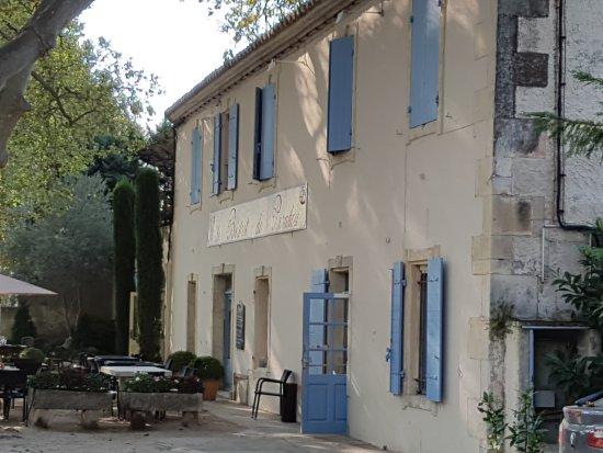 Paradou, ฝรั่งเศส: vue de la terrasse