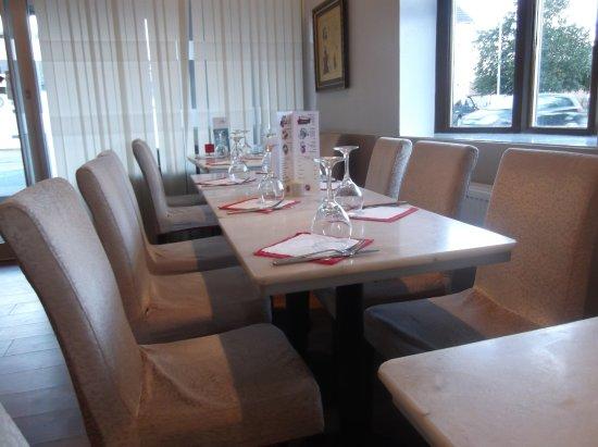 Livingston, UK: Inside the restaurant