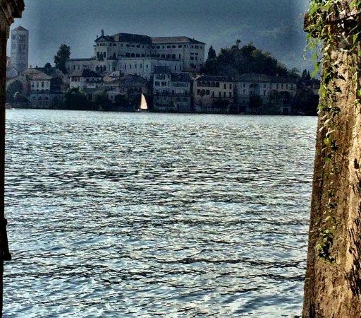 Lake Orta照片