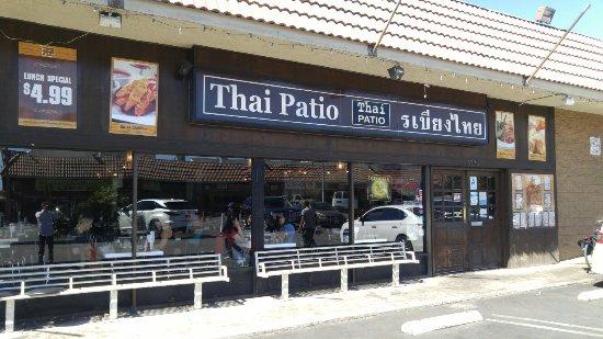 Thai patio bbq chicken picture of thai patio los for 4912 thai cuisine