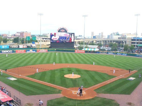 Coca-Cola Field: View from the upper deck