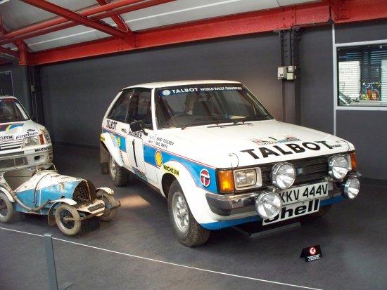 Coventry, UK: Talbot Sunbeam Lotus Rally car