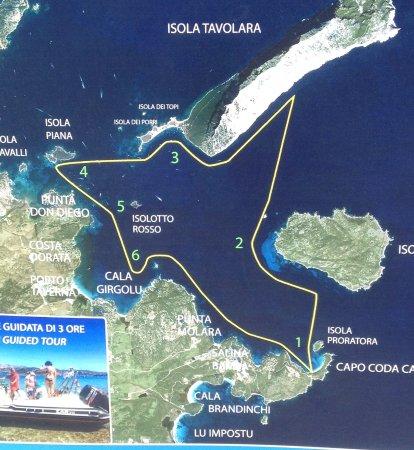 Cartina Di San Teodoro Sardegna.Mappa Picture Of Lu Impostu Beach Sardinia Tripadvisor