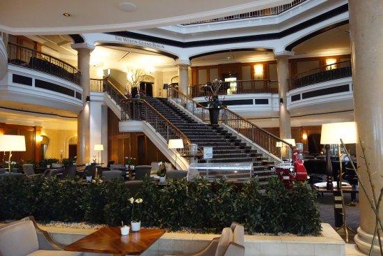 The Westin Grand Berlin: An impressive foyer