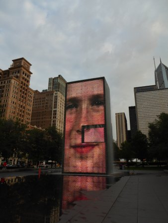 Crown Fountain: North Side