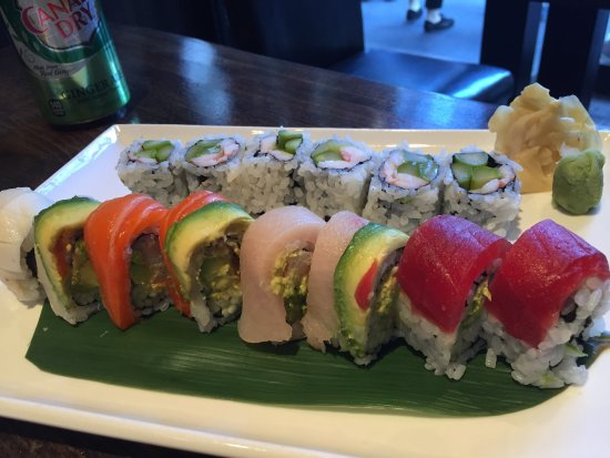 Rainbow roll picture of ajisai japanese restaurant new for Ajisai japanese cuisine