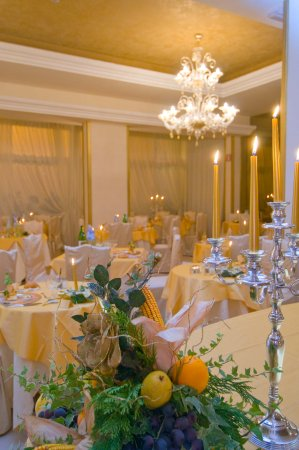 Абано-Терме, Италия: Sala da pranzo