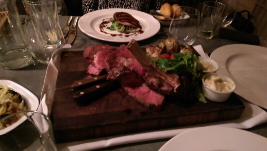 Odiham, UK: West Country Rib of Beef