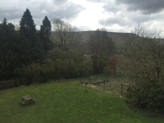 Edale, UK: View from our room