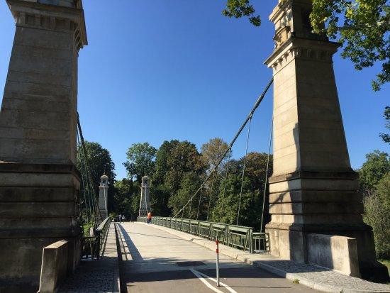 Kressbronn, Γερμανία: Die Hängebrücke