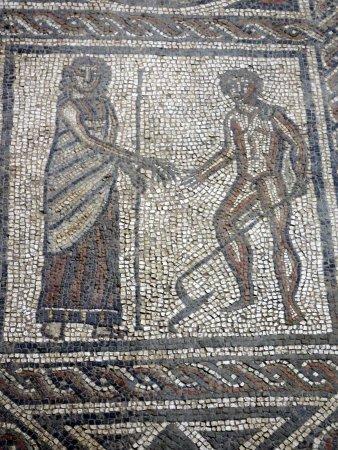 Brading, UK: Mosaic