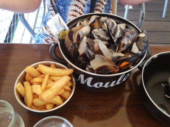 Le Grau d'Agde, Γαλλία: Moules frites