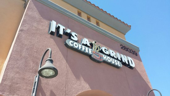 Murrieta, แคลิฟอร์เนีย: It's A Grind Coffee House