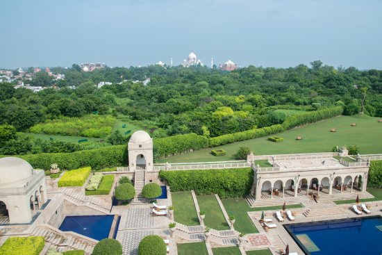 The Oberoi Amarvilas - View from our room