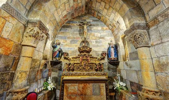Fafe, Portugal: Magnifico altar