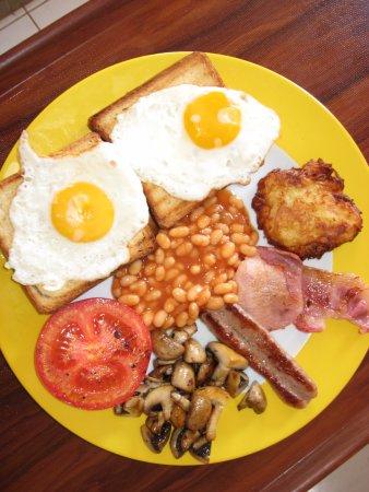 Sunset Restaurant: our breakfast