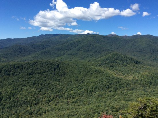 Looking Glass Rock : The view from the rock