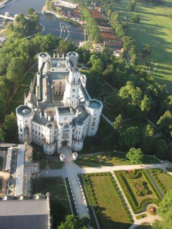 Βοημία, Τσεχική Δημοκρατία: Castle from the above