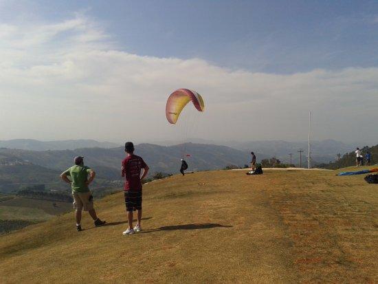 Serra Negra, SP: Paraglide