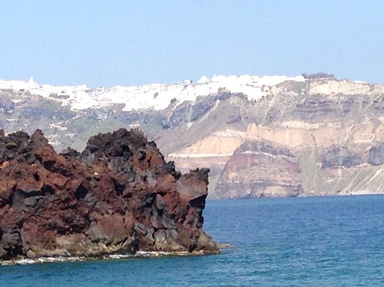 The Caldera From The Volcano Picture Of Santorini Luxury