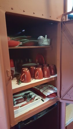 Huntington, Virgínia Ocidental: Caboose storage