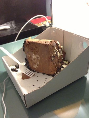 Rosemont, IL: Giant Chocolate Cake. Took it to go.