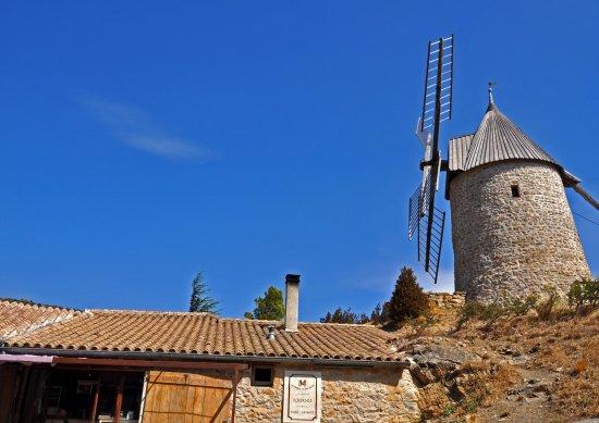 Les Maitres de Mon Moulin: Le magasin et le moulin