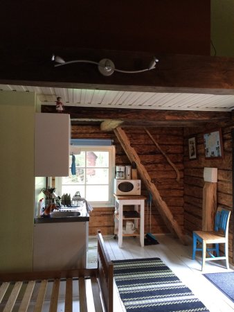 Saaremaa, Estland: These are from one of the rental cabins great rustic style
