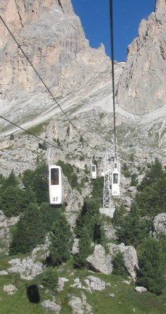 Val Gardena, Italien: You have to try this lift