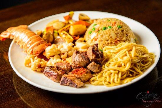 Wethersfield, Κονέκτικατ: Hibachi Lobster and Steak